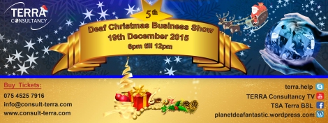 Deaf Business Christmas 5th Banner Real